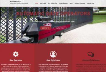 A1 Gate Guys announce new website