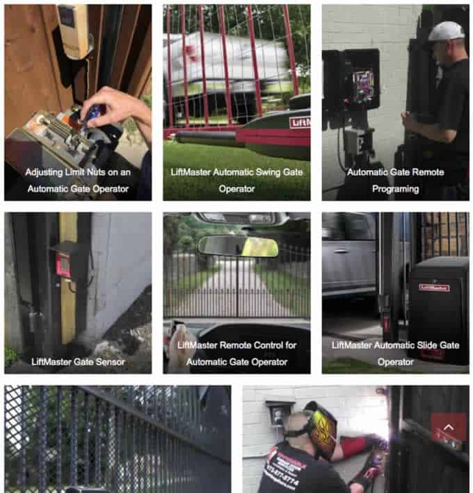 automatic gate repair gallery Plano, Lucas, Frisco Allen,