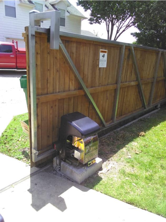 Mice in Automatic Gate Operator