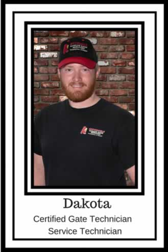 Dakota Clendenen Certified Gate Technician
