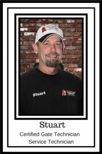 Stuart McGee Certified Gate Technician